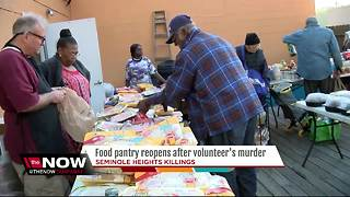 Food Pantry resumes after volunteer becomes 4th victim of Seminole Heights Killer