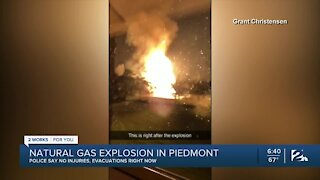 Natural gas explosion in Piedmont