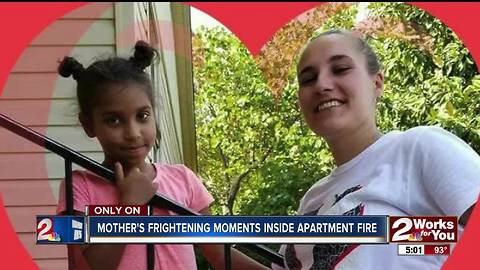 Mother remembers fire that killed daughter