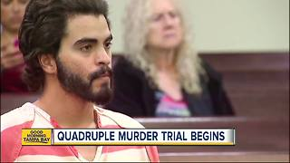 Adam Matos: Trial underway for Pasco County quadruple murder suspect - Video