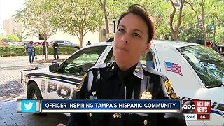 Hispanic Heritage Month: TPD's top female officer stands tall