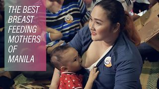 The Filipino women busting up breastfeeding stigmas - Video