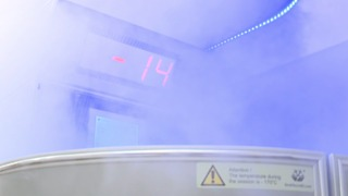 Cryotherapy now used on athletes at Kent State University - Video