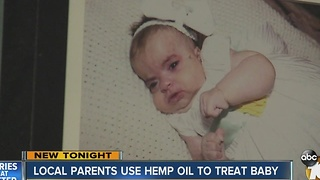 Local parents using hemp oil to treat baby - Video