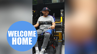 Gym-lover is now a quadriplegic after extremely rare muscle wasting disease - Video