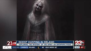 Ghost of a woman haunts Browning Road in Delano - Video