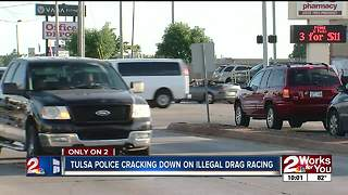 Tulsa police cracking down on illegal drag racing