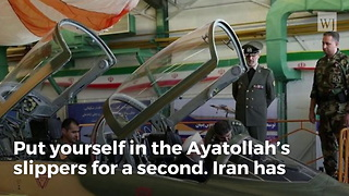 Iran's '100% Indigenously Made' Fighter Can't Even Be Shown Taking off