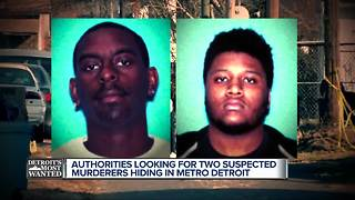 Detroit's Most Wanted: Katwan Gray and Deven Graham wanted for murder