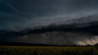 Incredible Timelapse Shows Storm Clouds Moving Over Canola Field - Video