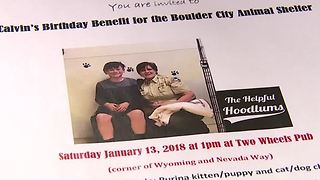Boy's birthday wish helps Boulder City Animal Shelter collect donations - Video