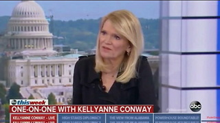 Kellyanne Conway Says If Claims Against Senate Candidate Roy Moore Are True 'It's Disqualifying' - Video