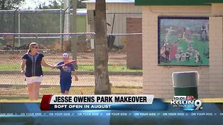 Jesse Owens park makeover nearly complete - Video