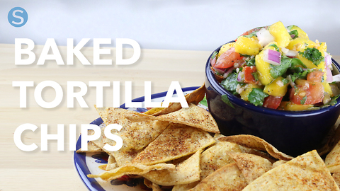 Make your own baked tortilla chips
