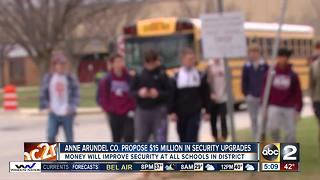 Anne Arundel County Schools announce $15M school safety plan - Video