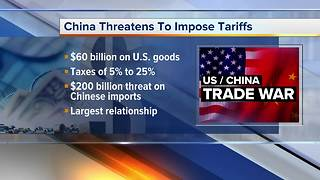 China announces $60B of US goods for tariff retaliation - Video