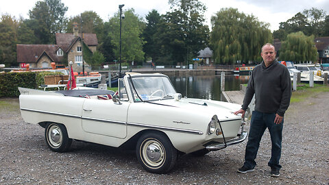 Amphicar - The Car That's Also A Boat | RIDICULOUS RIDES