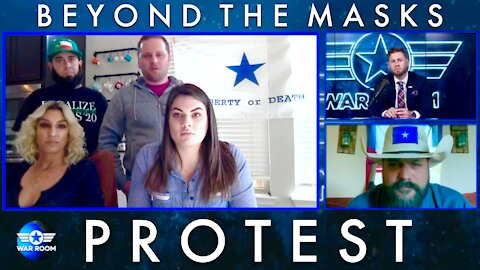 Beyond The Masks [PROTEST] On The War Room With Owen Shroyer 12/28/2020