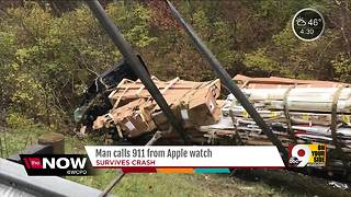 Man calls 911 from Apple watch - Video