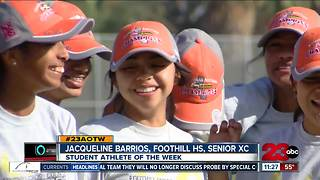 Female Athlete of the Week: Jacqueline Barrios - Video