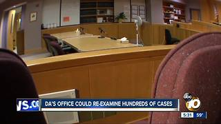 DA's office could re-examine hundreds of cases - Video