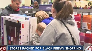Retailers closed on Thanksgiving Day hope to break Black Friday records - Video