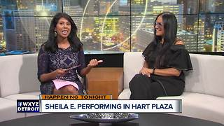 Sheila E. to Perform at Hart Plaza - Video