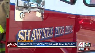 Cost of new fire station in Shawnee increases by $2M - Video