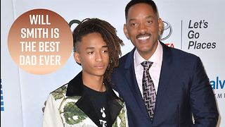 Jaden Smith isn't bothered by his dad's trolling - Video