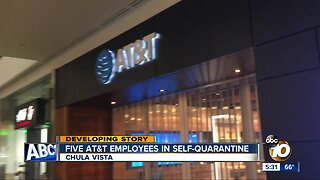 Five AT&T employees in self-quarantine in South Bay