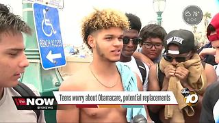 Teens worry about Obamacare, potential replacements - Video