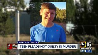 14-year-old pleads not guilty in murder in Apache County