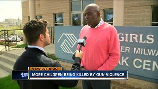 More children being killed by gun violence