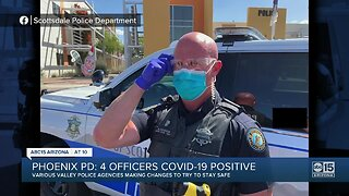 Valley police departments adjusting to COVID-19 with new questions, distancing measures