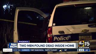 Two men found dead inside Phoenix house - Video
