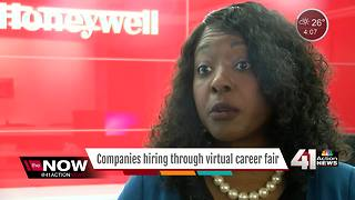 KC companies using virtual career fair in hiring - Video