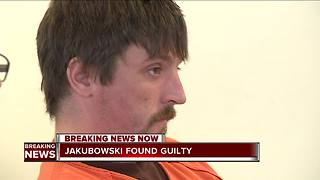 Jury convicts Jakubowski on weapons charge