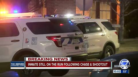 Shots fired, 2 suspects wounded after police pursuit in NE Denver; no officers injured