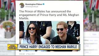 Prince Harry Is Engaged To American Actress Meghan Markle - Video