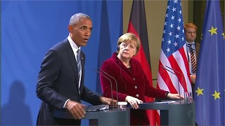President Obama Hopes Trump Will Stand Up to Russia - Video