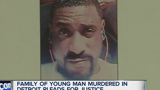 Family of young man murdered in Detroit demands justice - Video