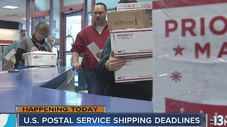 Today is the last day to ship your packages! - Video