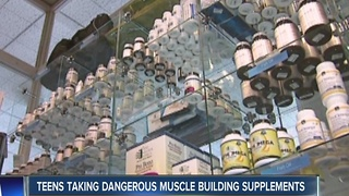 Common supplements could harm teens - Video
