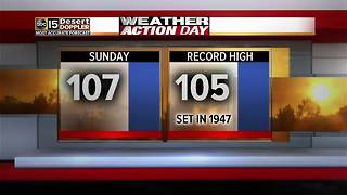 Triple-digits expected this weekend - Video