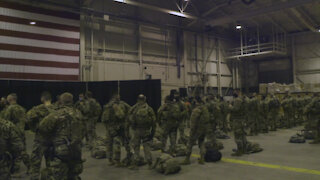 Oklahoma National Guard Soldiers Activation