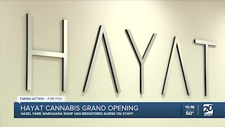 New marijuana shop opens in hazel Park