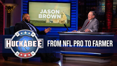 Jason Browns' INSPIRING Story From NFL Pro To FARMER | Jukebox | Huckabee