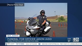 Funeral set for Tuesday for Peoria officer