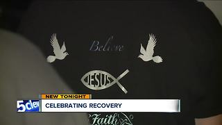 Movement church in Akron celebrates an addict's recovery