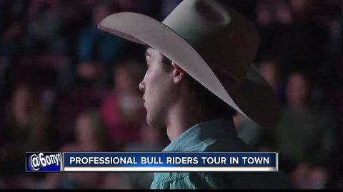 Professional Bull Riders Tour takes over Ford Idaho Center